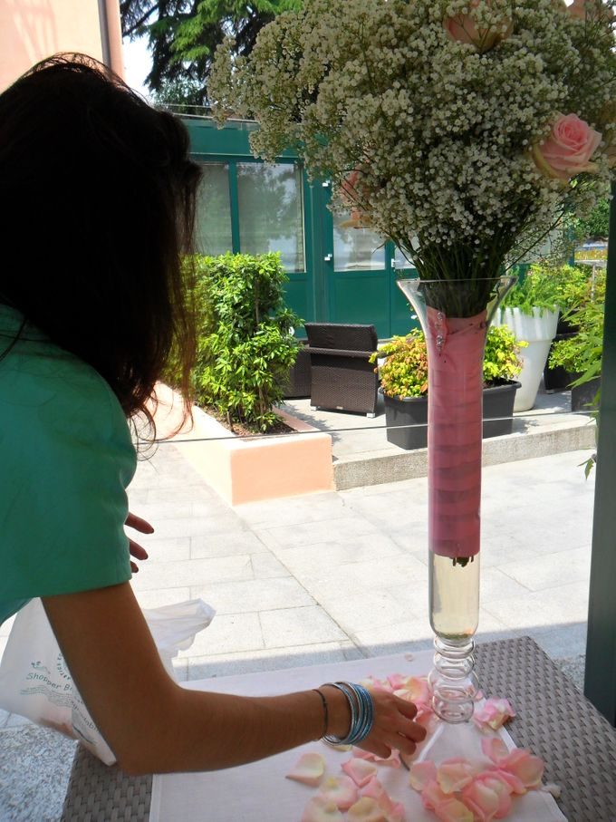 Romantic light pink wedding by Sogni Confettati - 025