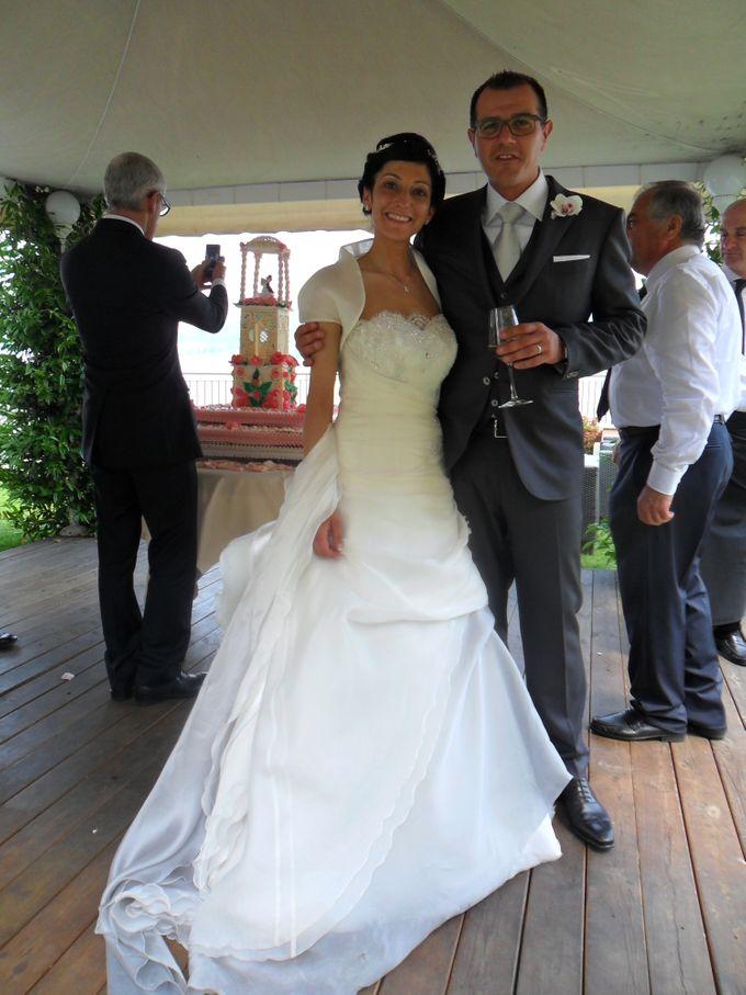 Romantic light pink wedding by Sogni Confettati - 031