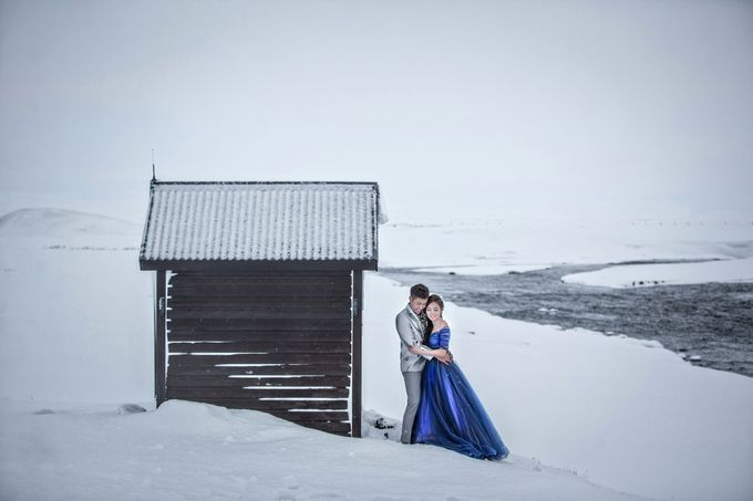 Iceland Winter Prewedding by Acapella Photography - 045