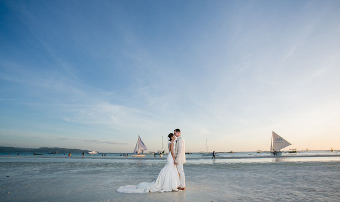 Goetz and Stella's Romantic Wedding at The Lind Boracay by BORDOY WEDDING PHOTOGRAPHY AND FILM - 005