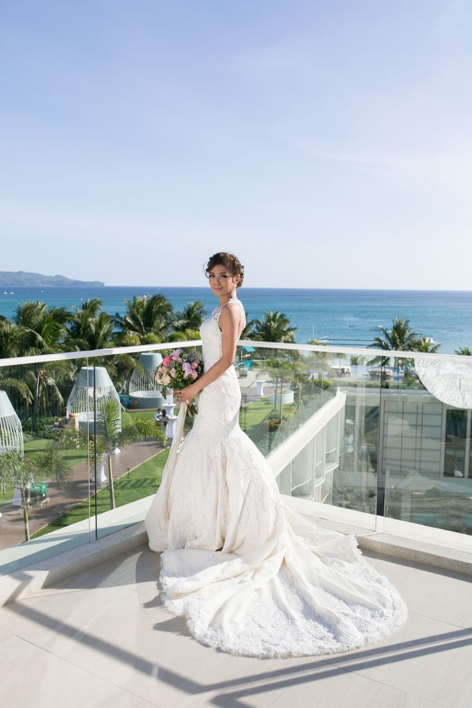Goetz and Stella's Romantic Wedding at The Lind Boracay by BORDOY WEDDING PHOTOGRAPHY AND FILM - 002