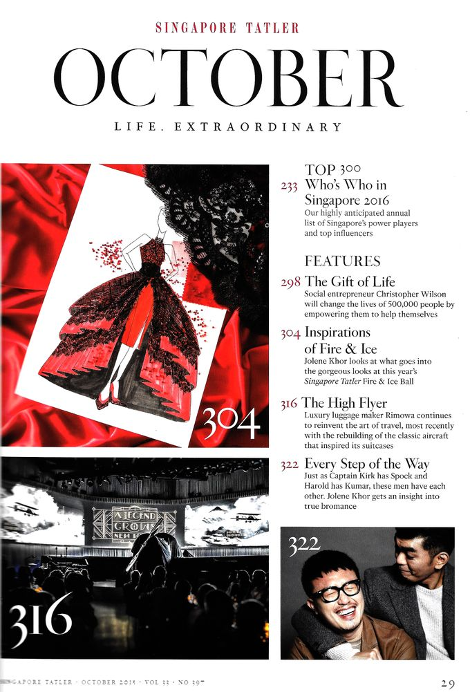Singapore Tatler Ball 2015 - Fire and Ice by Nicolas Laville Couture - 002