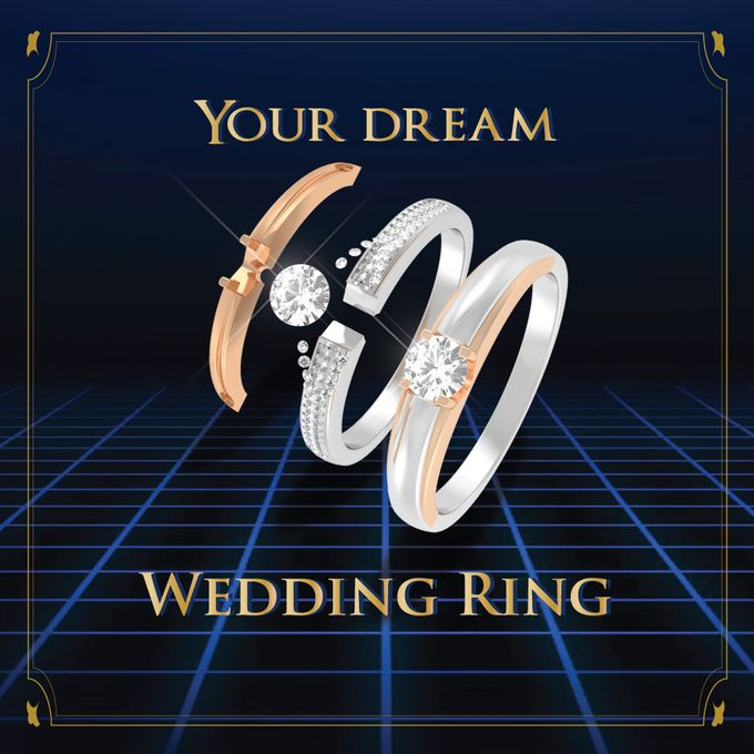 DESIGN YOUR OWN WEDDING RING by Adelle Jewellery - 003