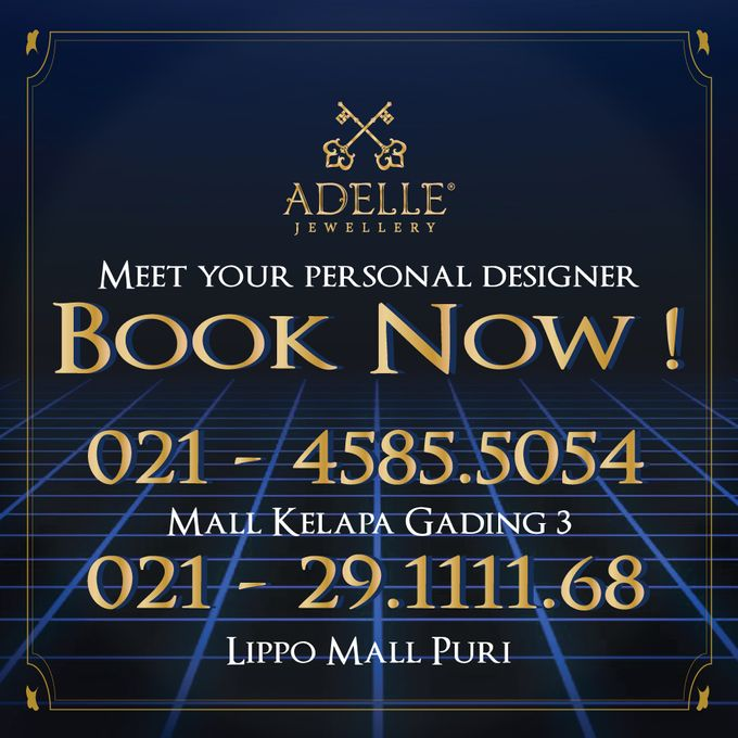 DESIGN YOUR OWN WEDDING RING by Adelle Jewellery - 004