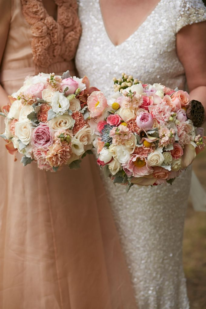 Bridal Party by Affair with George  Florals & Event Styling - 022