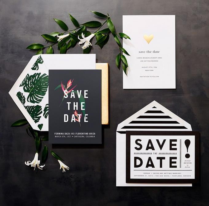 Oscar de la Renta wedding invitation by Paperless Post - 005