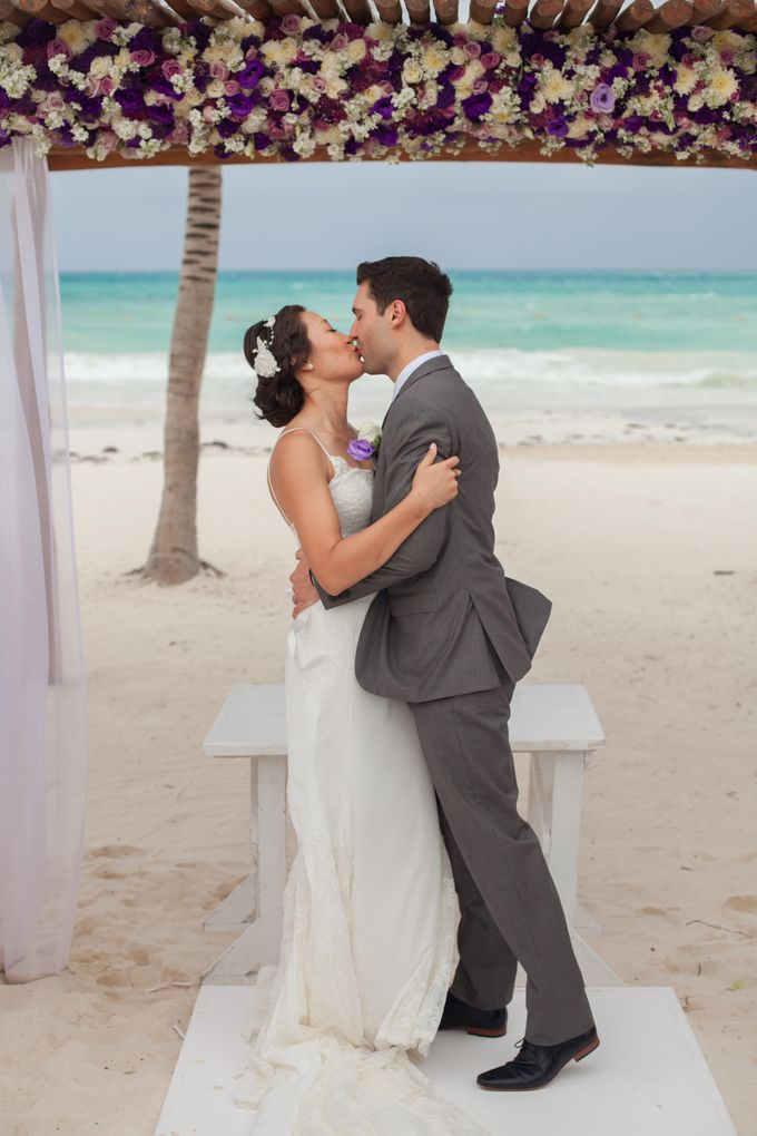 Sissi & Eric by Better Together Mexico Weddings - 011