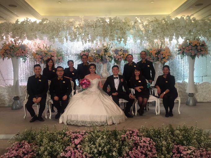 The Wedding Of Benny & Michelle by STILETTO PAGAR AYU - 001