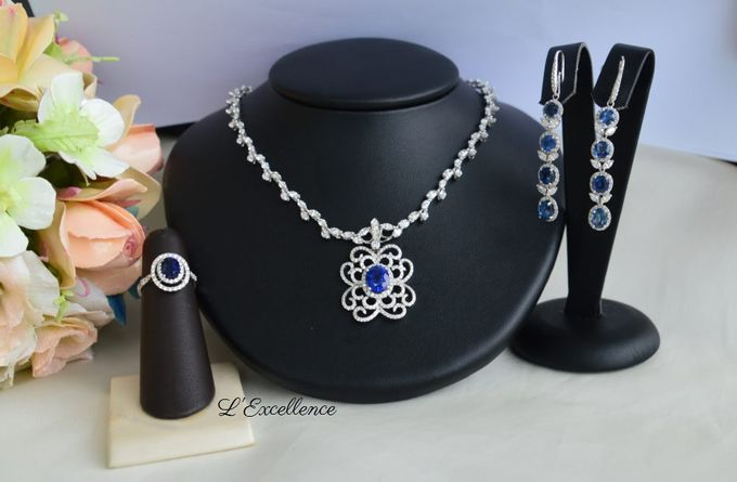Wedding Day Jewellery Sets by L'Excellence Diamond - 004