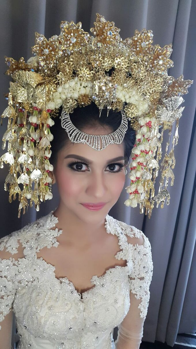 Safira & Gasik Wedding by Ira Makeup Artist - 001