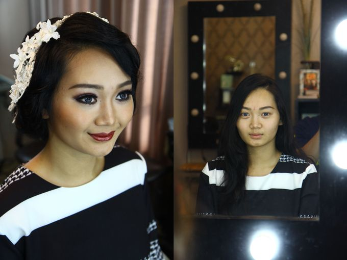 Bridal Makeup and Hairdo by Lee Cinthya Makeup Artist - 005