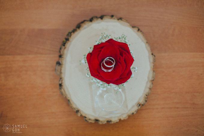 Wedding of Derek & Fiona by Rosette Designs & Co - 002