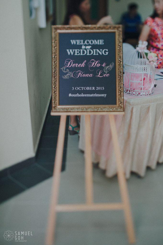 Wedding of Derek & Fiona by Rosette Designs & Co - 003