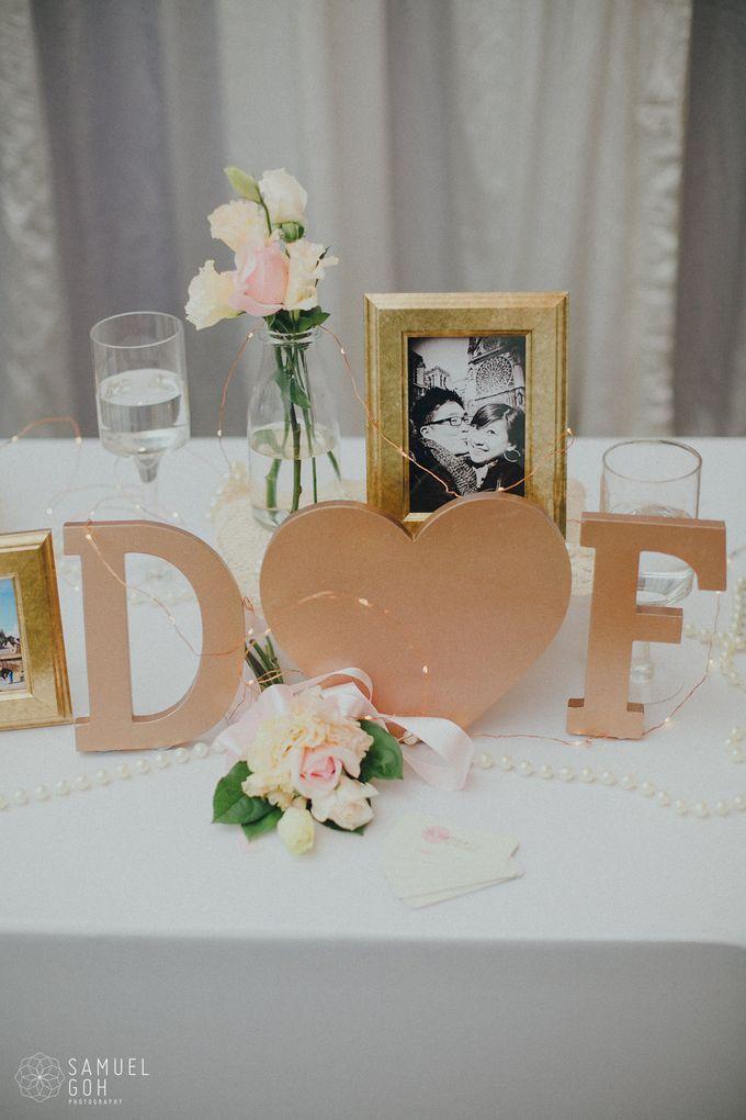 Wedding of Derek & Fiona by Rosette Designs & Co - 012