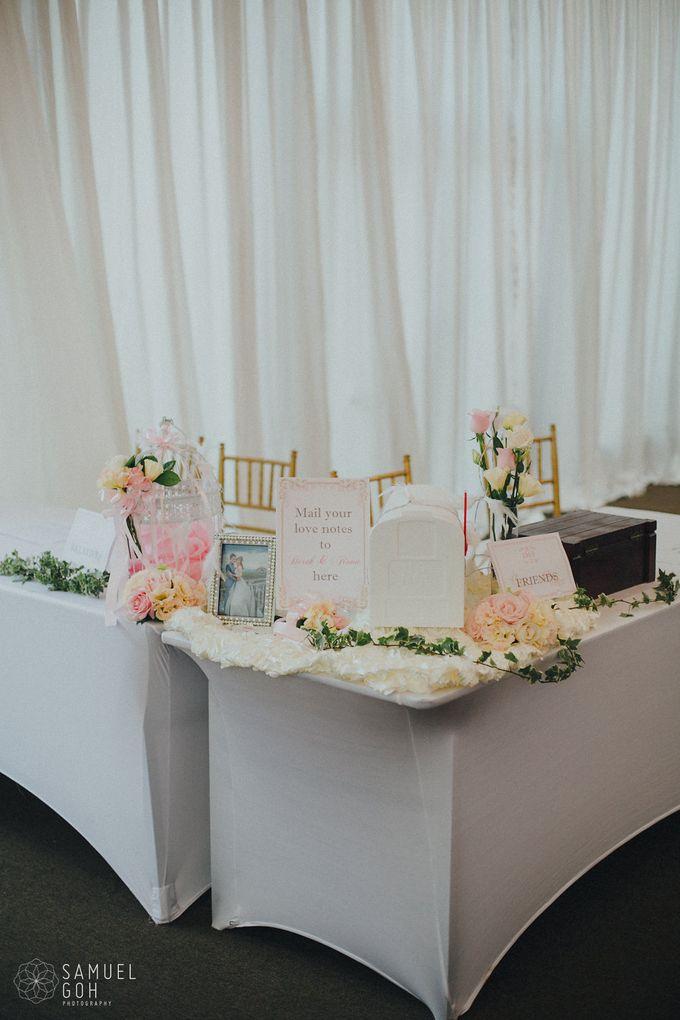 Wedding of Derek & Fiona by Rosette Designs & Co - 016