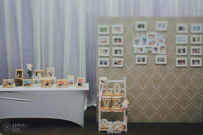 Wedding of Derek & Fiona by Rosette Designs & Co - 015