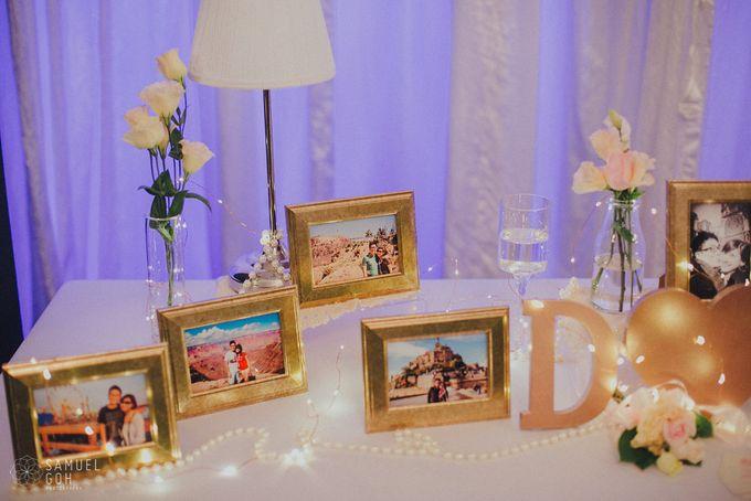 Wedding of Derek & Fiona by Rosette Designs & Co - 027