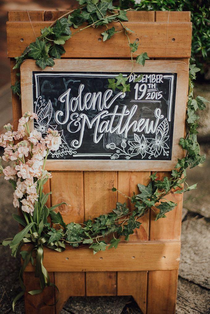 Wedding of Jolene and Matthew by Rosette Designs & Co - 003