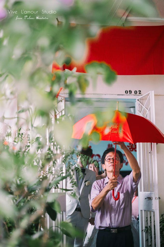 SamuelYuZhuang Actual Wedding Day by Majella's Studios - 021