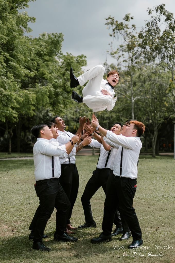 SamuelYuZhuang Actual Wedding Day by Majella's Studios - 006