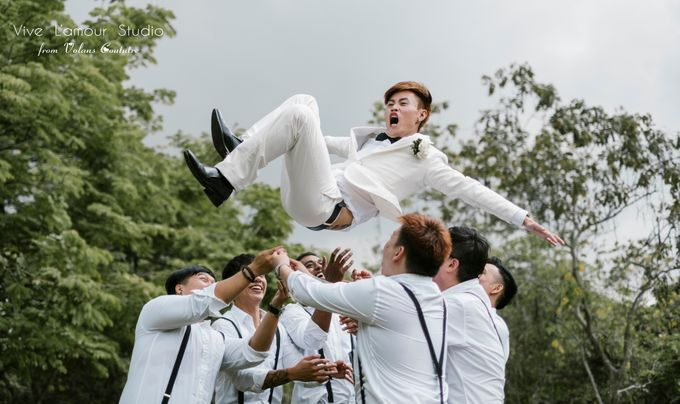 SamuelYuZhuang Actual Wedding Day by Majella's Studios - 003