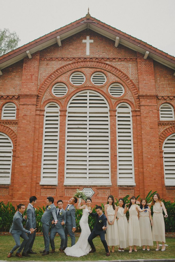 St Georges Church Wedding - Yu Lan & Wayne by Samuel Goh Photography - 048