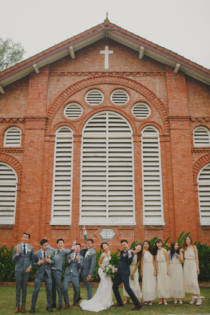 St Georges Church Wedding - Yu Lan & Wayne by Samuel Goh Photography - 049