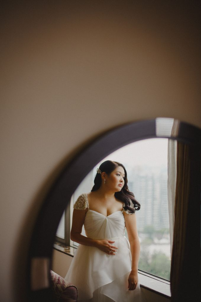 Intimate Wedding at Lewin Terrace - Wendy & Lee by Samuel Goh Photography - 006