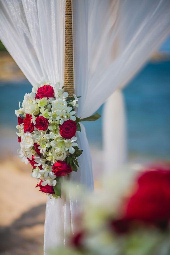 Thai & Western Wedding by Dream Asia Weddings - 007