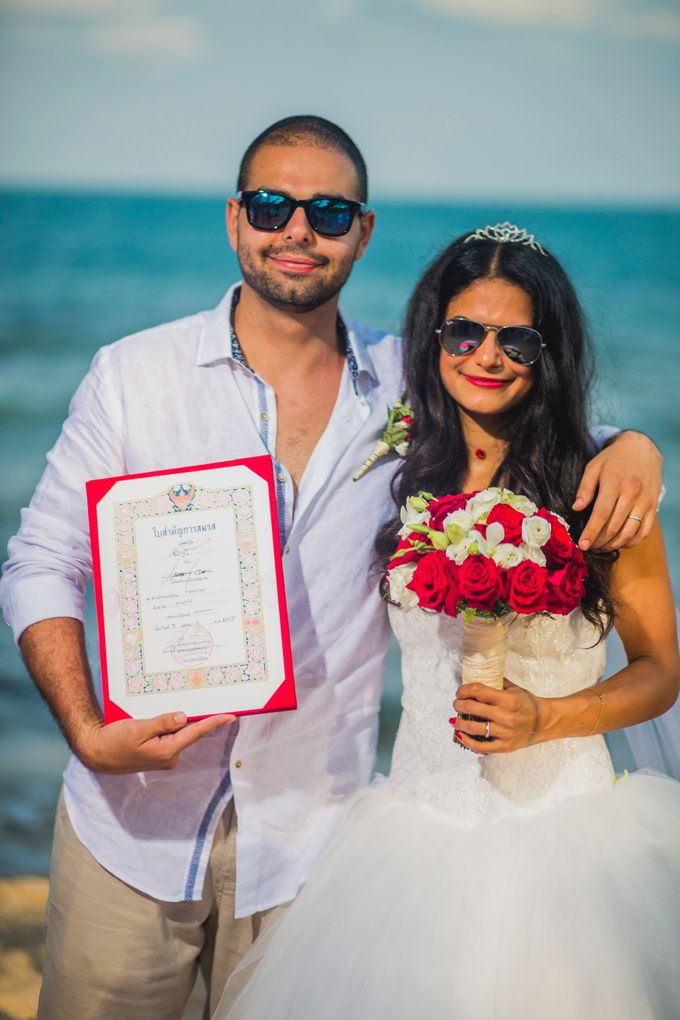 Thai & Western Wedding by Dream Asia Weddings - 002