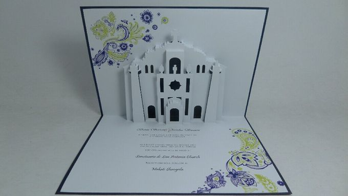 Pop Up Church Invitation by Pop Up Occasions - 005