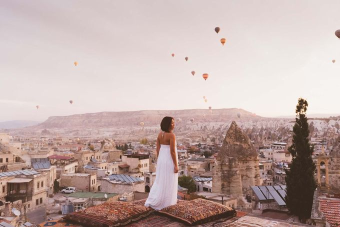 Fadli and  Sandy Pre Wedding Photo in Cappadocia by Dedot Photography - 003