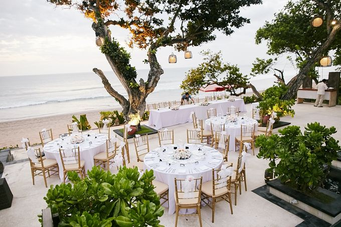 Wedding Ceremony and Dinner Reception by The Seminyak Beach Resort & Spa - 002