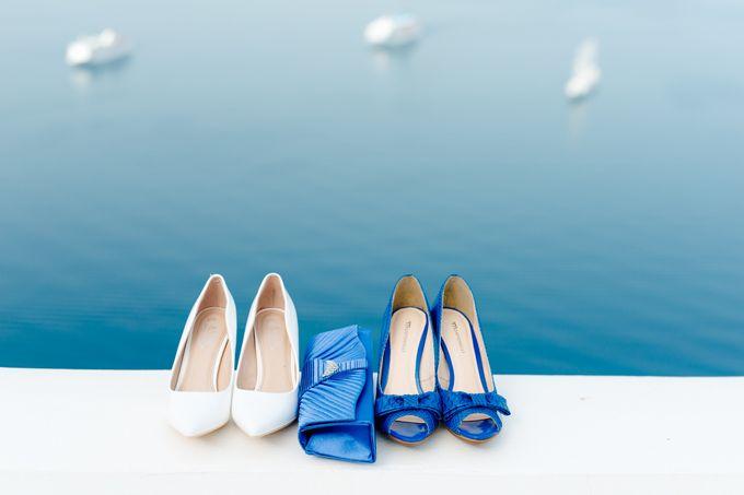 Destination Wedding in Santorini by Teodora Simon Wedding Photography - 005