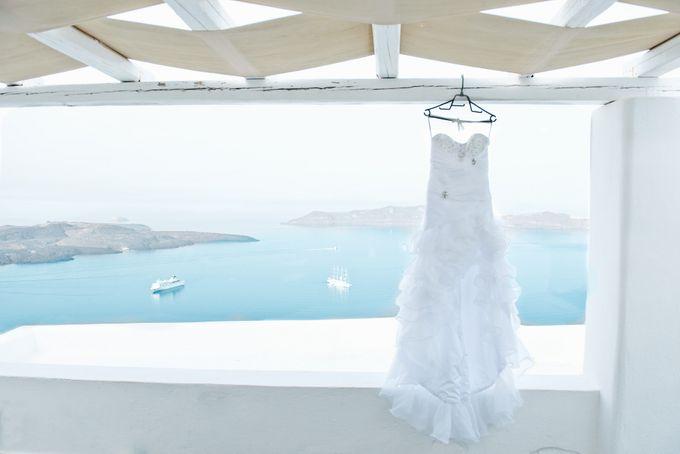 Destination Wedding in Santorini by Teodora Simon Wedding Photography - 006