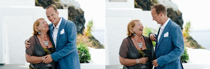 Intimate Santorini Dream Wedding by Teodora Simon Wedding Photography - 014