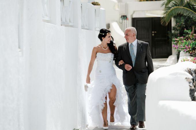 Destination Wedding in Santorini by Teodora Simon Wedding Photography - 016