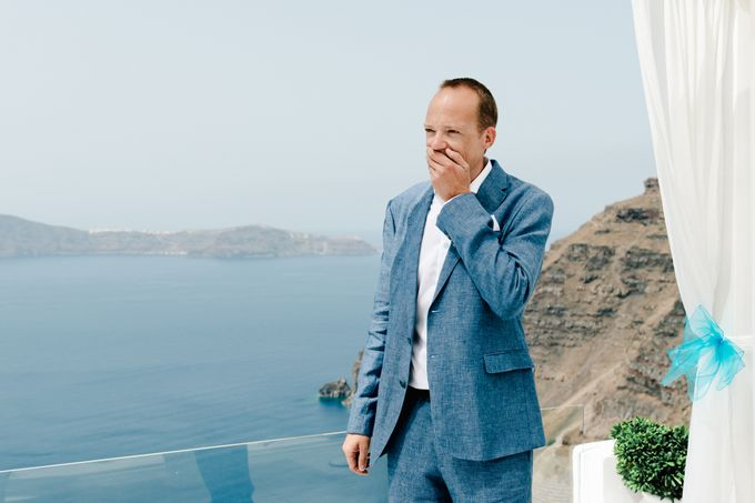 Destination Wedding in Santorini by Teodora Simon Wedding Photography - 017