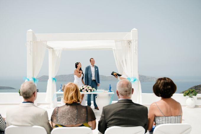 Destination Wedding in Santorini by Teodora Simon Wedding Photography - 019