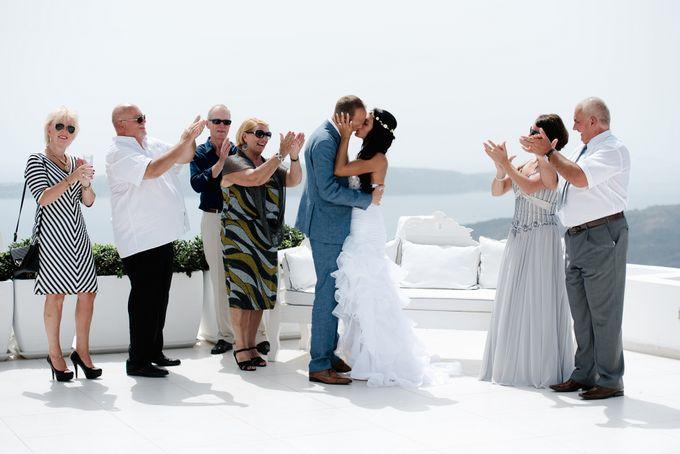 Destination Wedding in Santorini by Teodora Simon Wedding Photography - 030