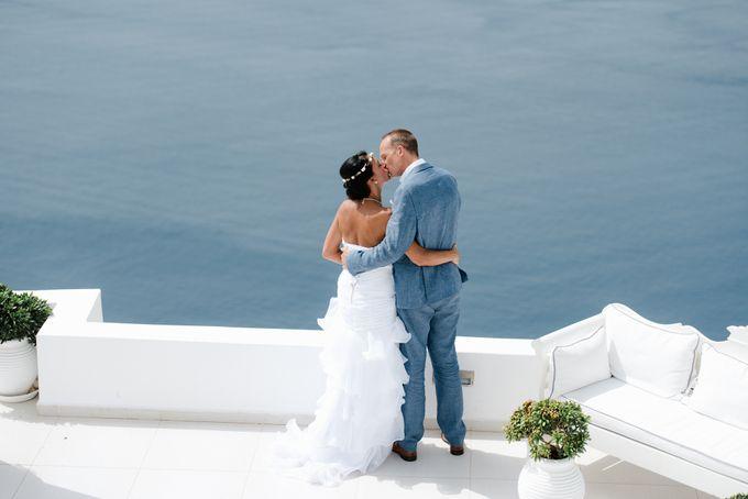 Destination Wedding in Santorini by Teodora Simon Wedding Photography - 032