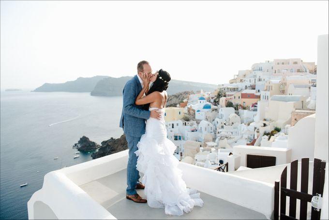 Destination Wedding in Santorini by Teodora Simon Wedding Photography - 037