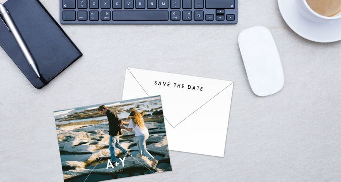 Save the Dates by For the Love of Stationery - 002