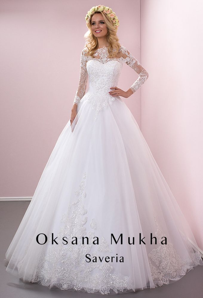 Preview Wedding Collection 2017 by OKSANA MUKHA - 042