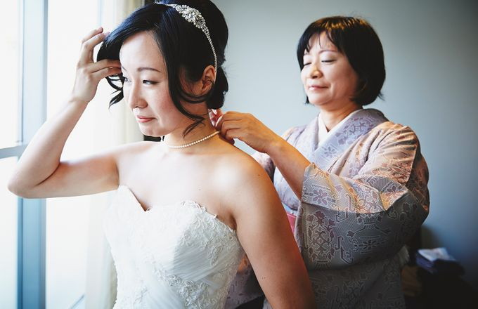 Japanese Inspired Prohibition Wedding by Bri Johnson Weddings - 009