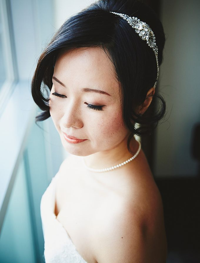 Japanese Inspired Prohibition Wedding by Bri Johnson Weddings - 011