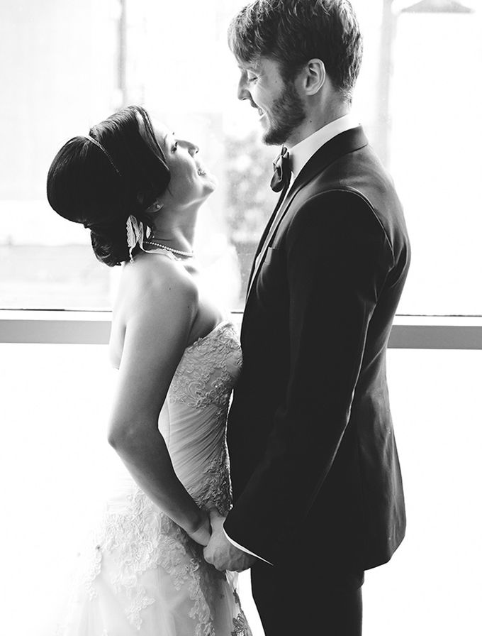 Japanese Inspired Prohibition Wedding by Bri Johnson Weddings - 017