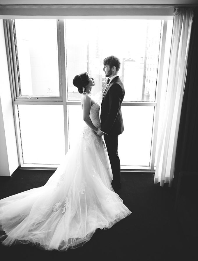 Japanese Inspired Prohibition Wedding by Bri Johnson Weddings - 018