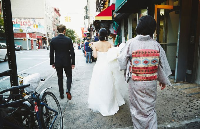 Japanese Inspired Prohibition Wedding by Bri Johnson Weddings - 019