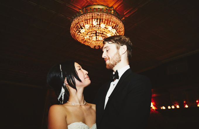 Japanese Inspired Prohibition Wedding by Bri Johnson Weddings - 050